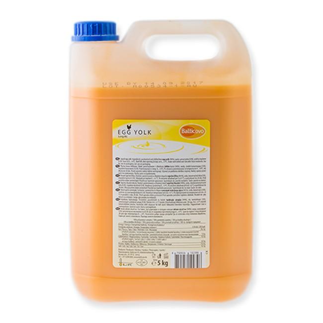 Liquid egg yolk 5 l