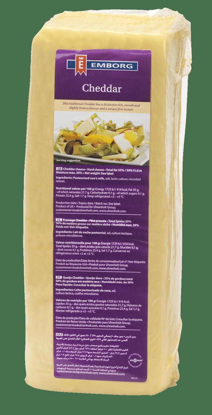 White cheddar 2.5 uhrenholt