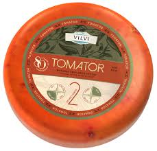 Semi-hard cheese Tomator with sun-dried tomatoes