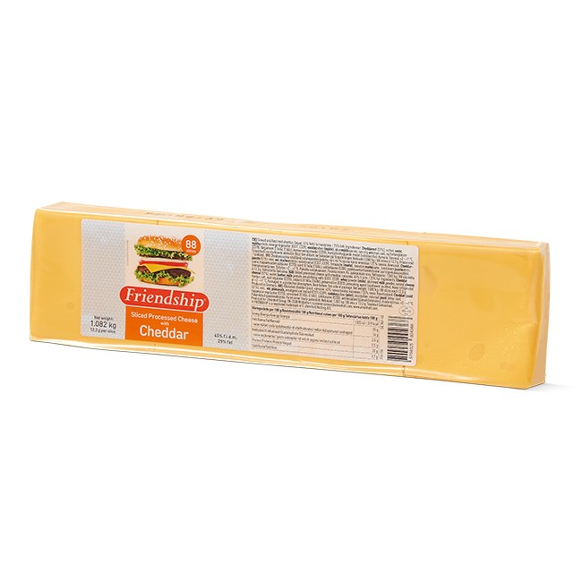 Processed Gouda cheese slices
