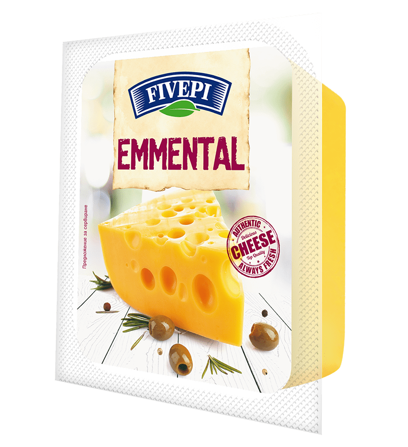 Fivepi emmental cheese 200 g
