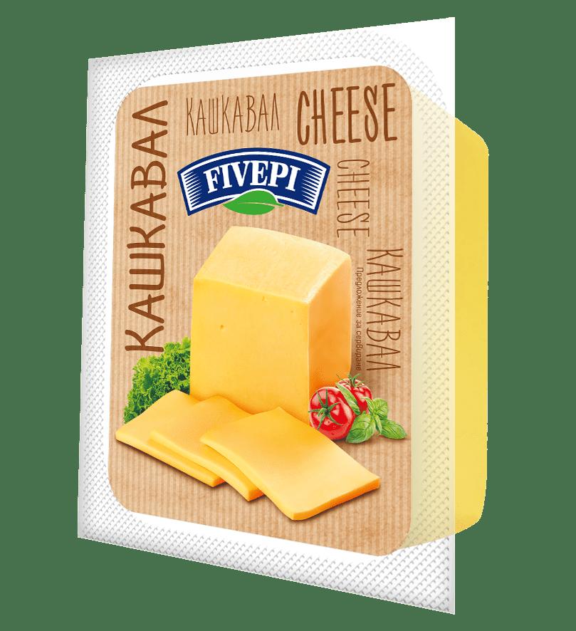 Fivepi Kashkaval cheese 400 g