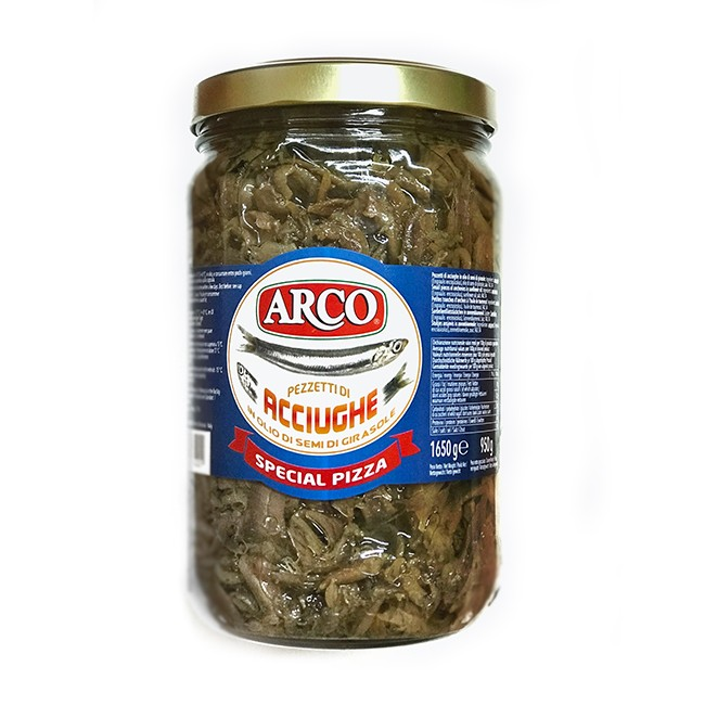 Anchovy in sunflower oil