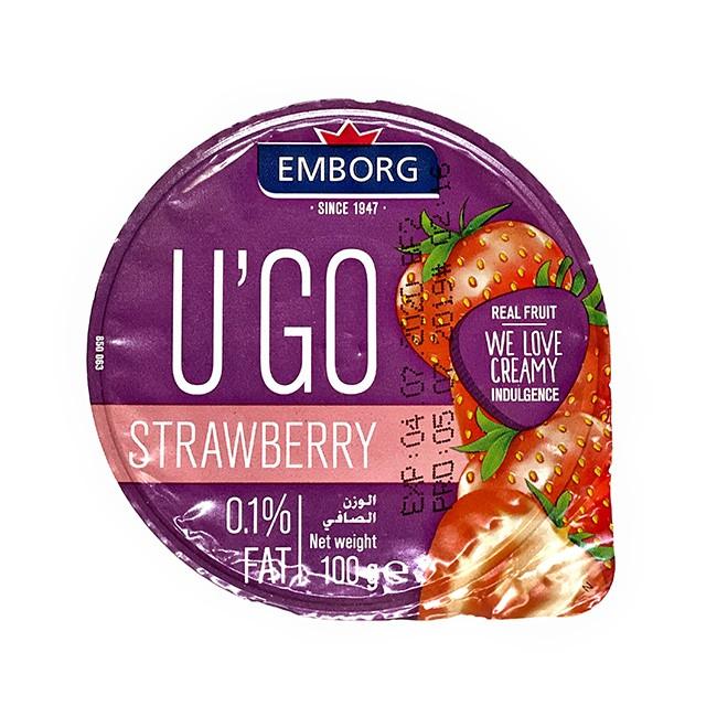 U'GO milk dessert strawberry