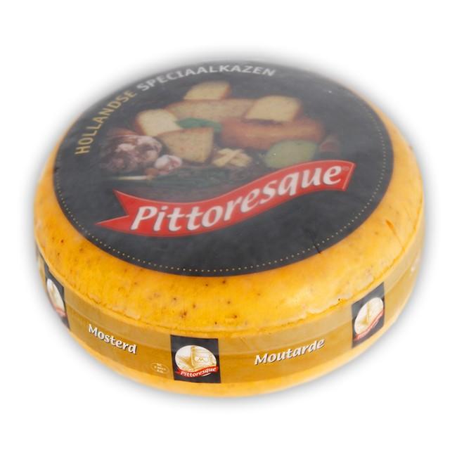 Pittoresque gauda 50% cheese with mustard