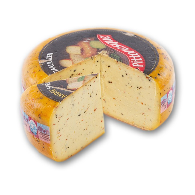 Pittoresque gauda 50% cheese with herbs
