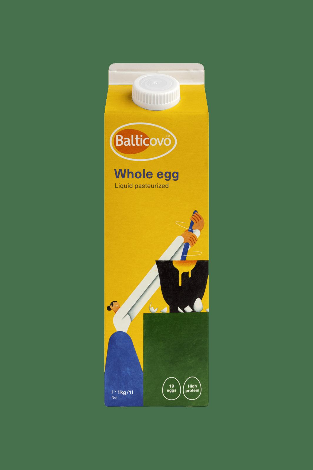 Liquid whole egg