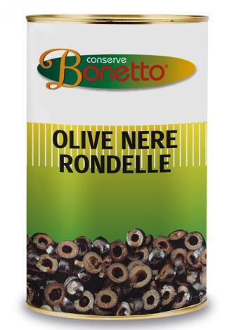 Black olive rondelle